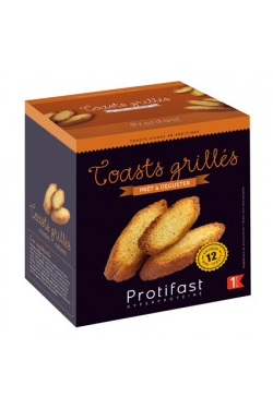 Crostini Toasts grillés
